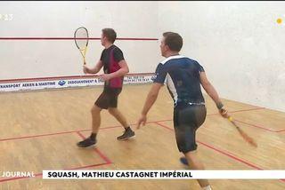 Tournoi de squash international à Phénix