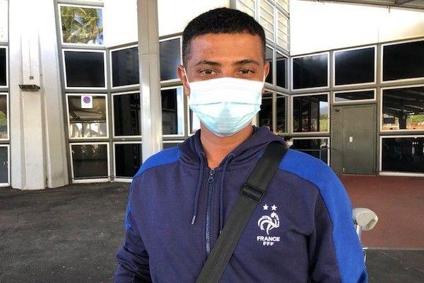 Nicolas Leclerc, l'un des jeunes du RSMA partis à Paris pour le défilé du 14 juillet