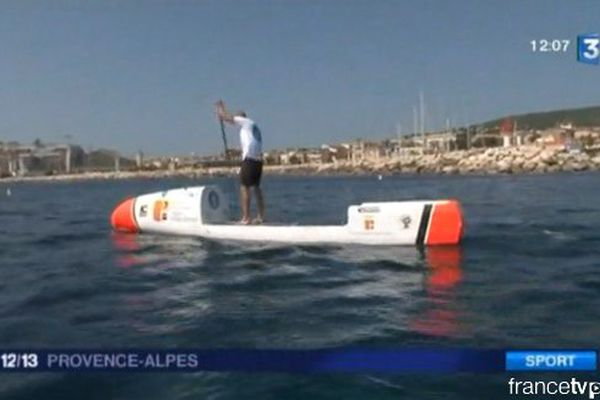 Atlantique en stand up paddle