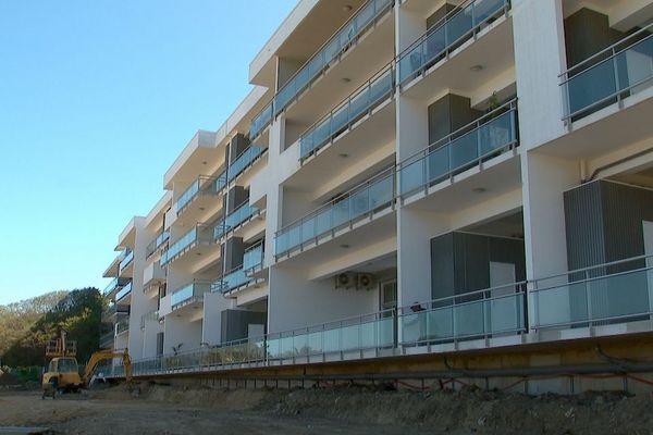 Construction d'immeuble, BTP, chantier, logement neuf