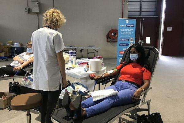 Collecte exceptionnelle de sang à la Nordev
