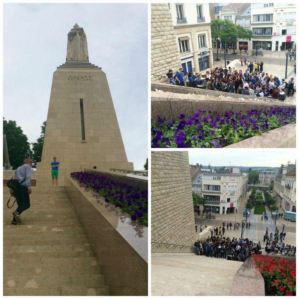 Collégiens calédoniens Verdun
