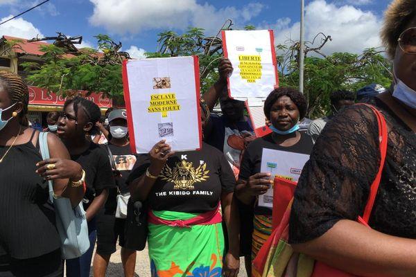 Manifestation du Front 24 juillet