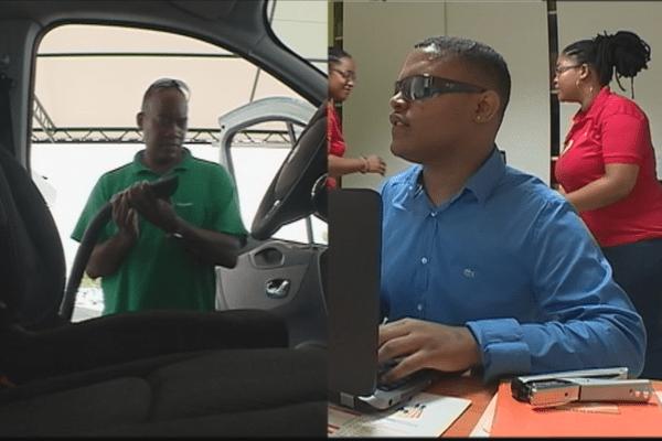 Handicapés au travail