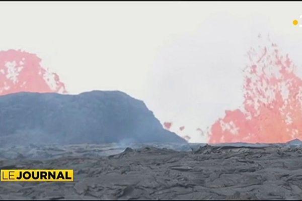 Volcan Kilauea : Hawaii voit rouge