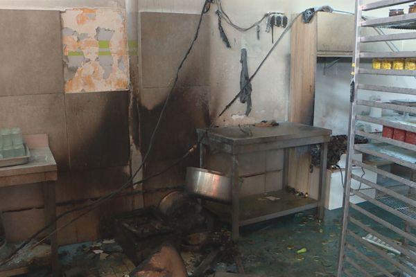 Incendie Saveurs de la Fournaise