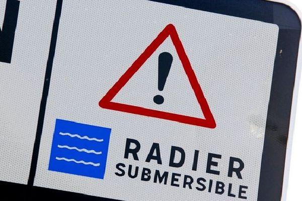 Radiers submergés février 2020
