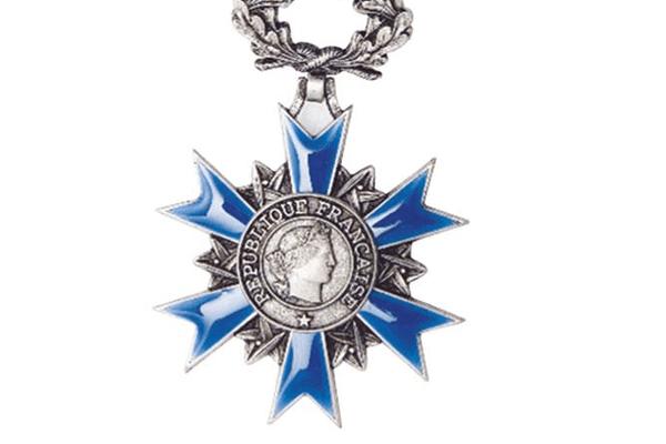 medaile chevalier de l'ordre national du mérite