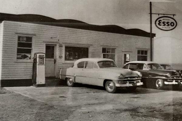 garage lake années 50