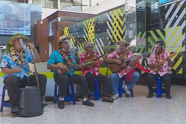 musiciens ukulele / tourisme