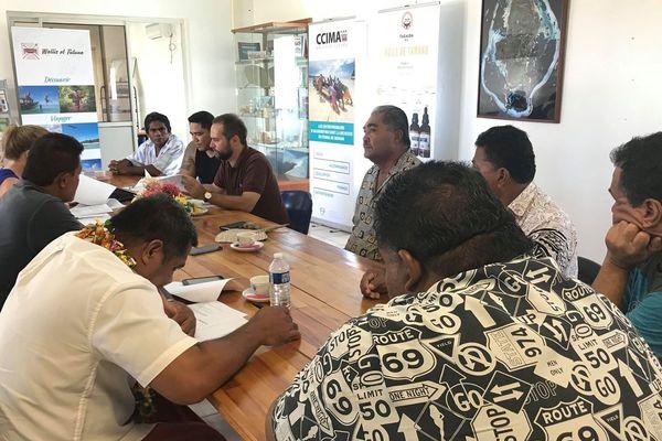 reunion des pêcheurs à la CCIMA
