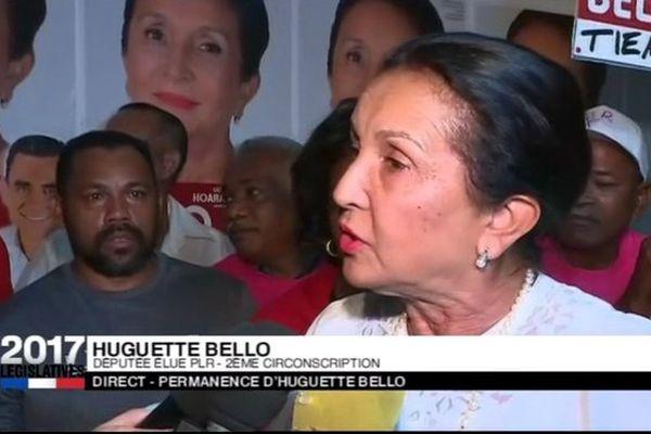 Huguette Bello, élue dans la 2ème circonscription