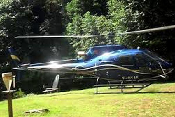 hélicoptère de Guyane