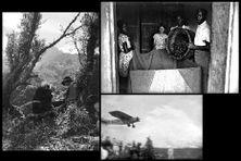 La Réunion immortalisée par les photographes Albany avec notamment le premier avion atterrissant à Gillot en 1929