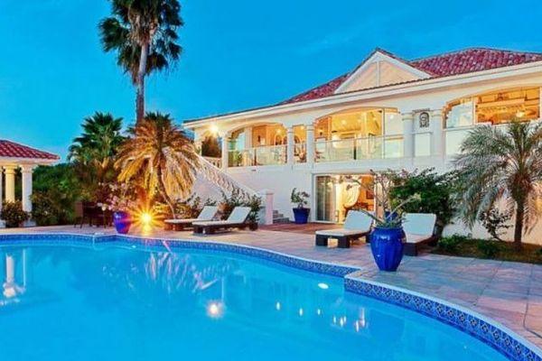Villa Pamplemousse à Saint-Martin