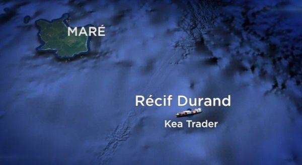Kea Trader: carte de situation