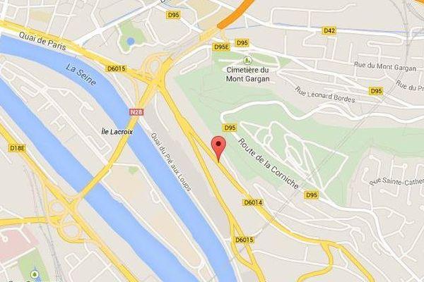 Plan Rouen