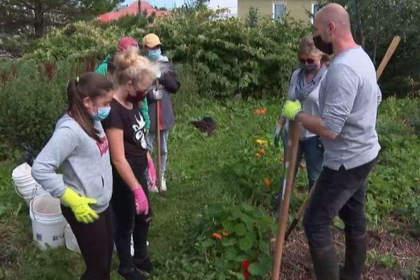 jardinage college saint christophe