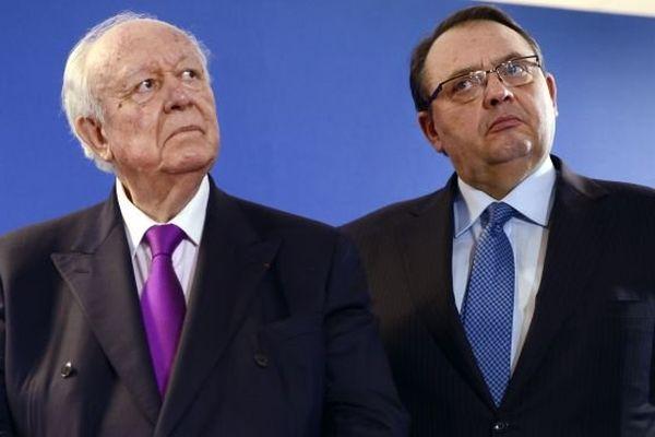 Jean-Claude Gaudin et Patrick Menucci