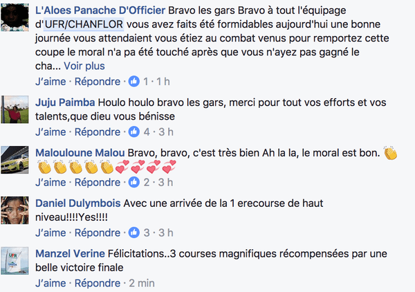 Commentaires FB