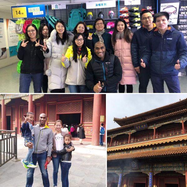 Depuis 2014, Benoît et sa famille sont installés en Chine