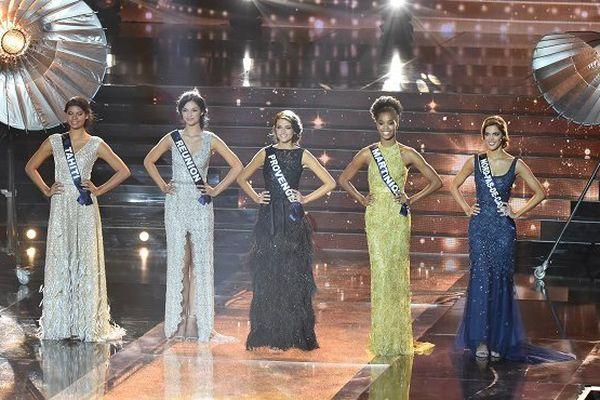 Les 5 finalistes Miss France 2016