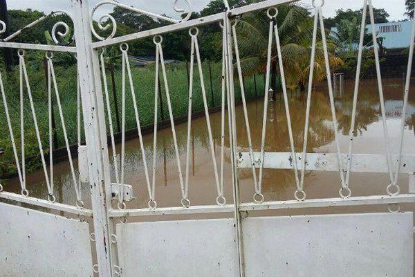 Inondation à Rémire-Montjoly