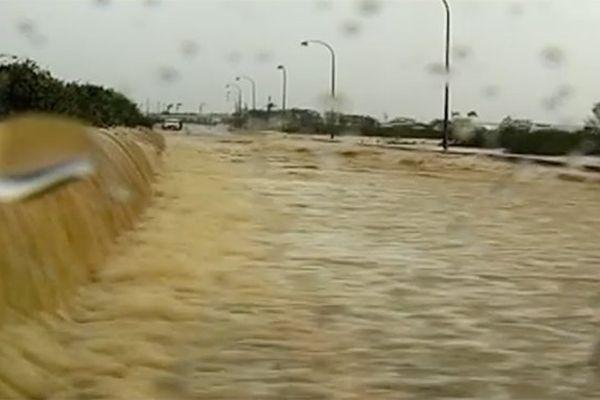 """L'ouragan """"Dean"""" en 2007"""