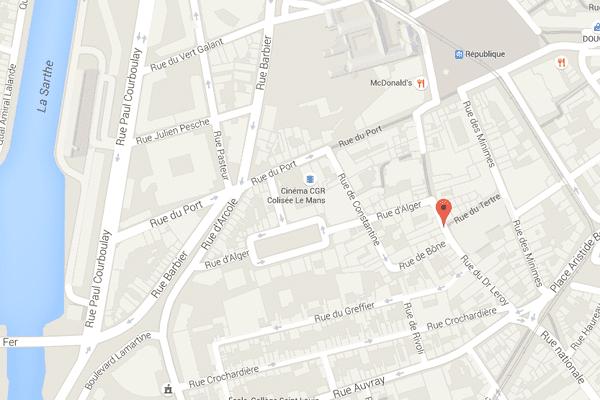 Un homme d'orgine polynésienne a été poignardée dans la rue du docteur Leroy au Mans