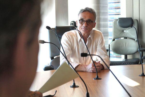 Mobilisation de l'intersyndicale des retraités, juin 2020, Xavier Martin, DG Cafat