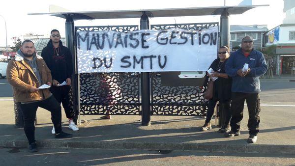 Tractage dans le conflit Karuïa / SMTU, 4 août 2021, à Nouméa