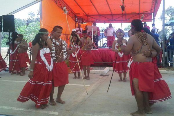Inauguratiopn maison des savoirs traditionnels