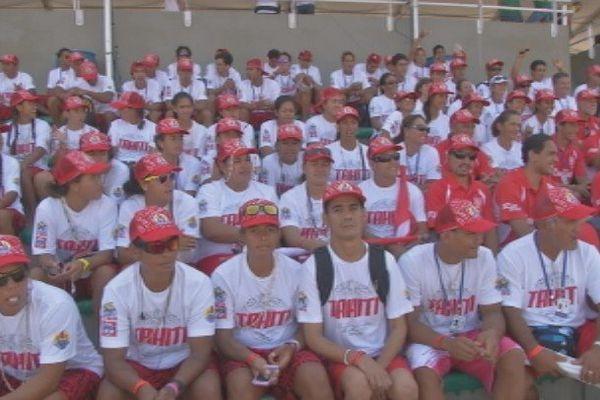 La délégation tahitienne au Va'a Rio 2014