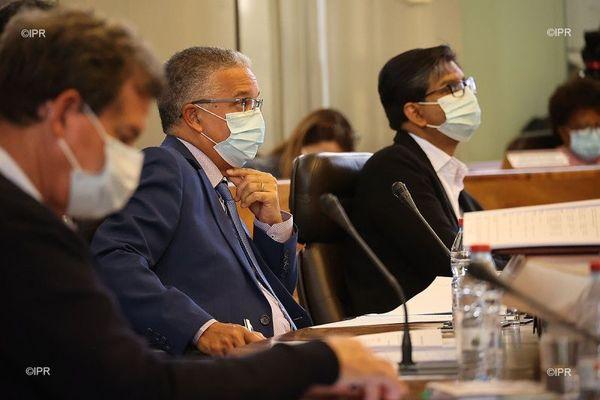 Le président du département, Cyrille Melchior, a défendu sa feuille de route pour l'environnement.