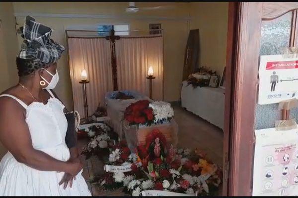 Obsèques Médélice Baptiste dite Médé