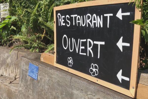 Restaurants ouverts dans le sud