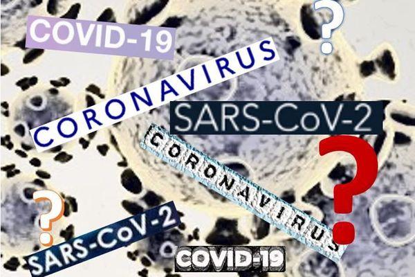 Différence entre coronavirus, covid-19, SARS-Cov-2