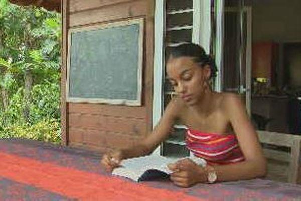 Zaïa Canneval, meilleure bachelière de Guadeloupe