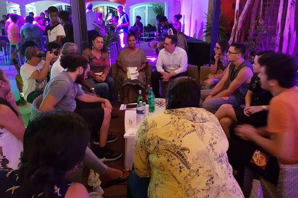 Municipales 2020 : speed meeting de Calédonie ensemble à Nouméa, 28 février