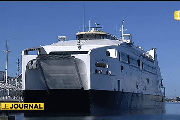Un nouveau ferry entre Tahiti et Moorea