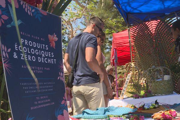 Au marché de Noël alternatif du parc forestier, 30 novembre 2019