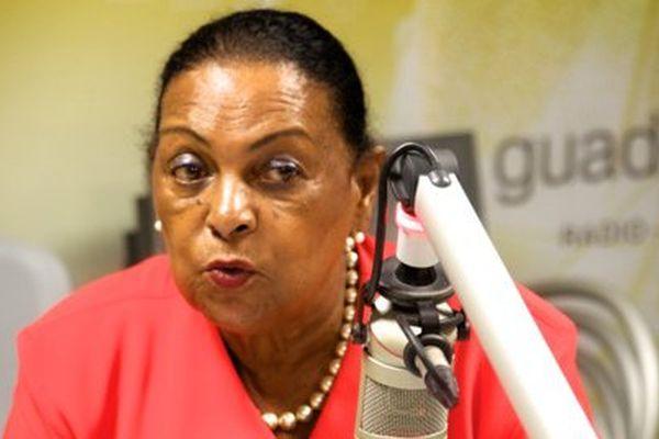 Josette Borel Lincertin, prône une concertation pour la Guadeloupe