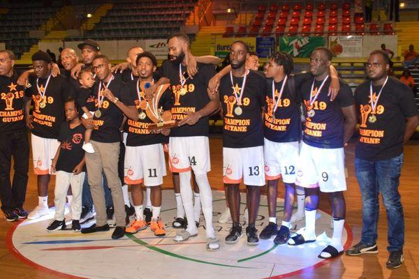 L'équipe championne 2019