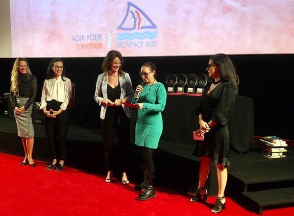 Festival du cinéma de La Foa 2021, remise des prix, Manuella Ginestre