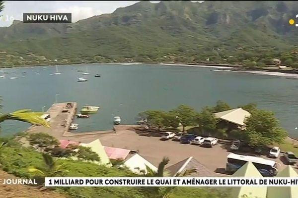 front de mer de Taiohae à Nuku Hiva sera réaménagé
