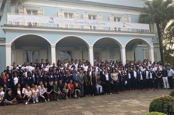 JIOI 2019 dernier rassemblement de la délégation Réunion à la Villa du Département 060719