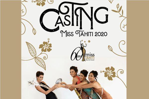 Le casting pour Miss Tahiti 2020 est ouvert