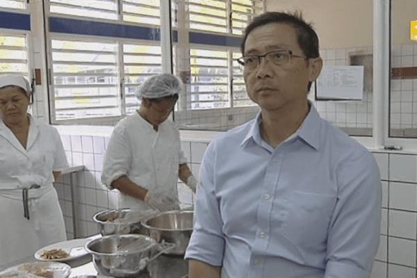 Jimmy Wong, proviseur du lycée professionnel Saint-Joseph
