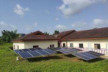 La centrale solaire du village Kumenê