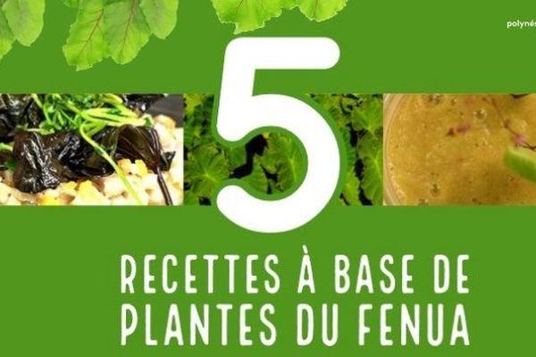 5 recettes à base de plantes du fenua